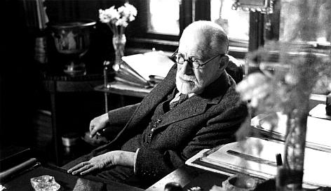 Sigmund Freud (1856 - 1939).