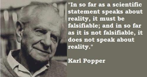 """Karl Popper: """"Falsacionismo"""" / """"Principio de Falsabilidad"""".-"""