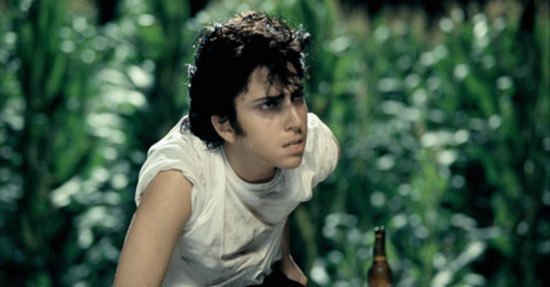 Lady Gaga as her alter/male ego Jo Calderone.-