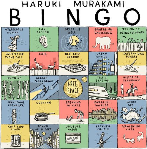 Juego de Tablero con los temas principales de los libros de Murakami.