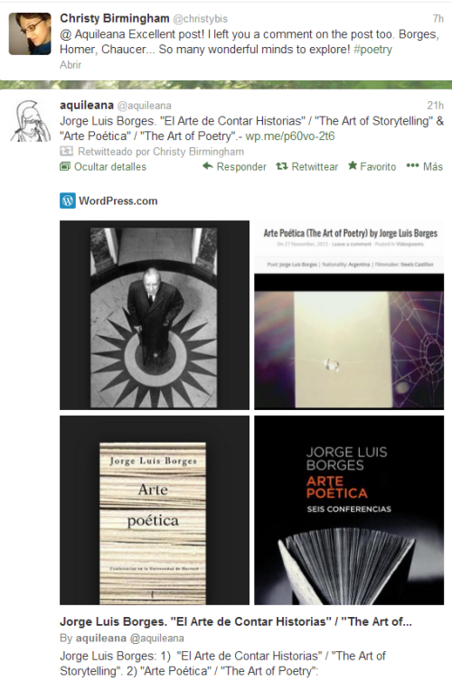 Click on the Picture to connect with @christybis on Twitter.