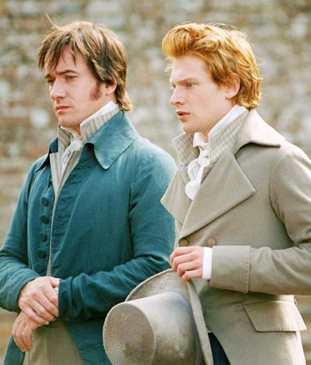 Mr Darcy y Mr Bingley.-