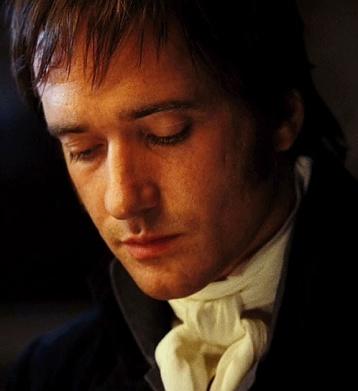 Matthew Macfadyen como Mr Darcy.-