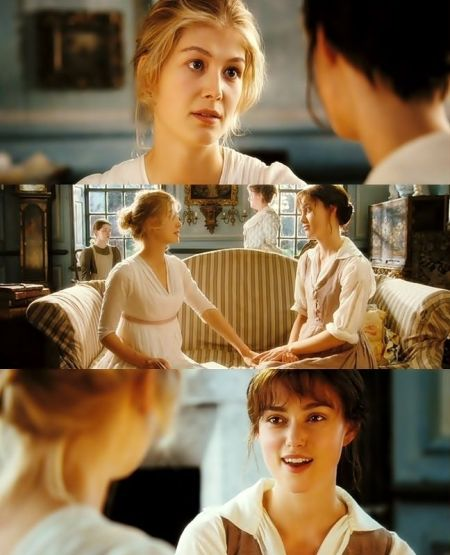 Elizabeth y Jane Bennet.-