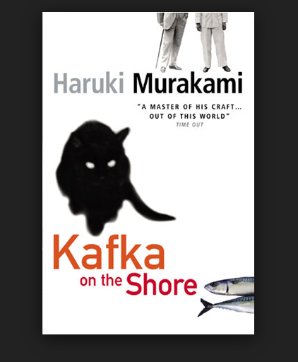 "Click on the Book cover to download: ""Kafka on The Shore"", by Haruki Murakami.-"