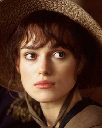 Keira Knightley como Elizabeth Bennet.