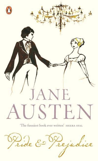 """Pride and Prejudice"" Quotes  Click on the cover book above to read them.-"