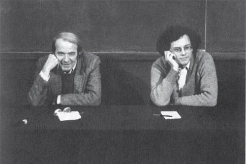 Gilles Deleuze and Felix Guattari.-