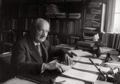 Martin Heidegger (1889/1976).-