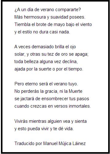 """poetry william shakespeare """"soneto xviii"""" """"sonnet xviii  soneto18"""