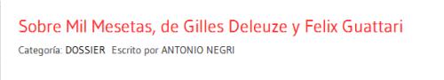 Hacer click sobre la imagen del título para leer el Dossier completo de Antonio Negri.-