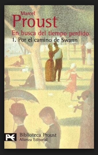 """Hacer click sobre la imagen de la portada del libro para leer """"Por el Camino De Swann"""", de Marcel Proust"""".-"""