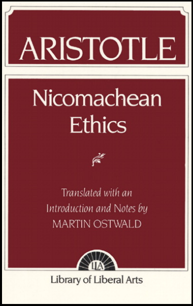 "Click o the cover book to read ""Nicomachean Ethics"" by Aristotle.-"