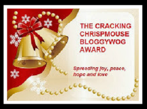 El Premio Bloggywog Chrispmouse Cracking. -