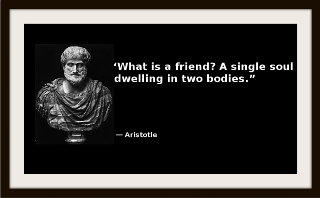aristotle the three kinds of friendship Aristotle identifies three kinds of friendship which, though distinct, are not necessarily exclusive first, there is the friendship of utility, which is based upon the usefulness each party derives from the other.