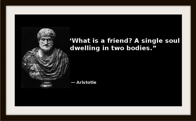 Aristotle friendship essay
