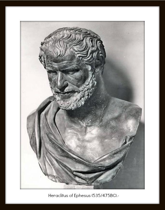 heraclitus permenades Thales, anaximander, heraclitus, parmenides, zeno in greek and burnet's english translation heraclitus : original greek text : diels english translation : john burnet (1892) in pdf, unicode.