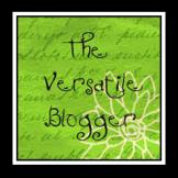 The Versatile Blogger Award.