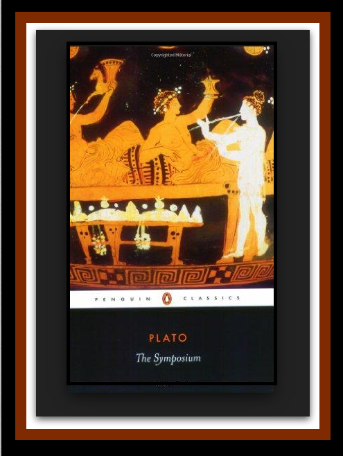 """Click on the book cover above to read """"The Symposium"""" by Plato.-"""