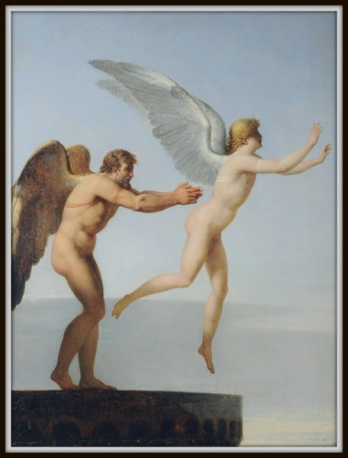 """Icarus and Daedalus"", by Charles Paul Landon"