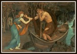 """Charon and Psyche"" by John Roddam Spencer Stanhope."