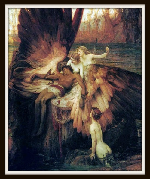 """The Lament for Icarus"" by H. J. Draper.-"