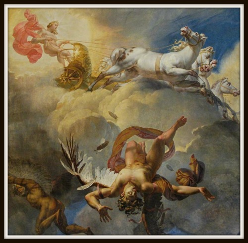 """The Sun, or the Fall of Icarus"" by Merry-Joseph Blondel"