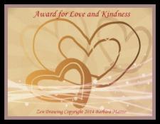 Love and Kindness Award.-