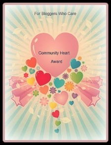Community Heart Award.-