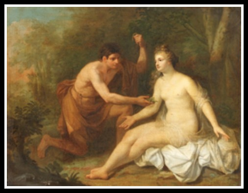 """Orpheus and Eurydice"" by Angelica Kauffmann.-"