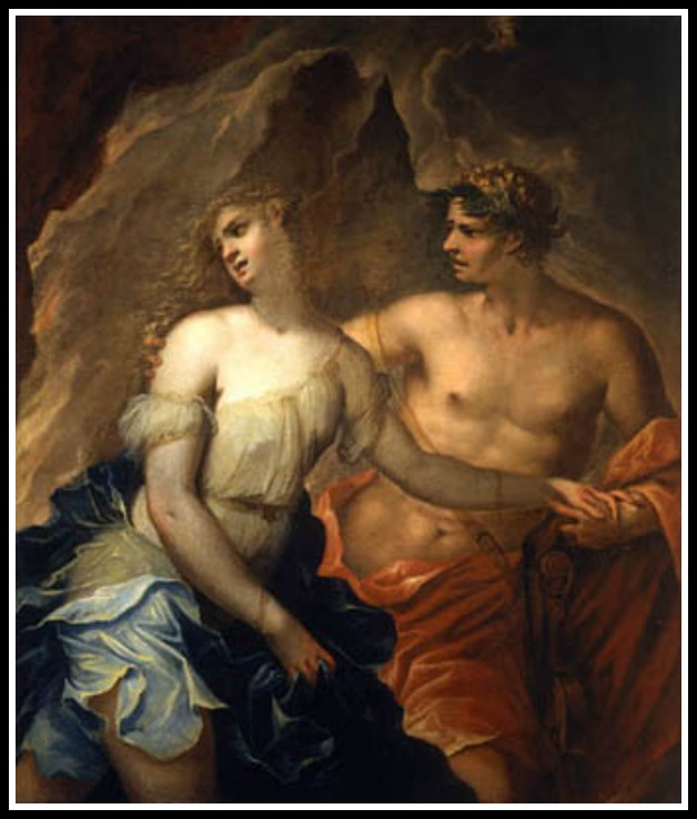 """Orpheus and Eurydice"", by Federico Cervelli.-"