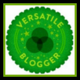 Versatile Blogger Award.-