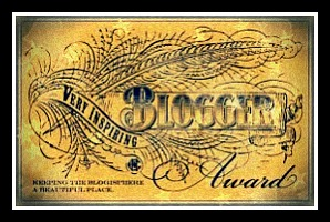 Very Inspiring Blogger Award.-