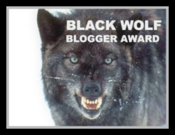 Black Wolf Blogger Award .