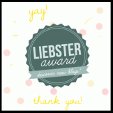 Liebster Award.