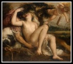 Mars, Venus and Amor by Titian (c1530)