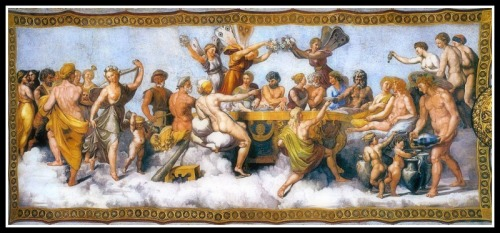 Wedding Banquet of Cupid and Psyche
