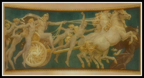 "'Apollo in His Chariot with the Hours"" by  John Singer Sargent (1922-25)."