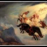 """""""The Fall of Phaeton"""" by James Ward (1829)."""