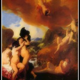 """The Fall of Phaeton"" by Johann Liss (1624)."