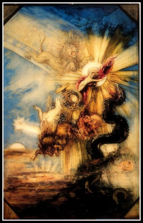 """Phaeton"" by Gustave Moreau (1878)."