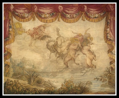 """""""The Fall of Phaeton"""": From Ovid's """"Metamorphoses"""" by Gabriel Babonneix (1776)."""