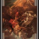 """""""Fall of Phaeton"""" by Sebastiano Ricci (1703/1704)."""
