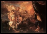 """""""Selene and Endymion"""" by Nicolas Poussion (1630)."""