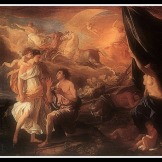 """Selene and Endymion"" by Nicolas Poussion (1630)."