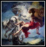 """The Fall of Phaeton"" by Jan Eyck (17th Century)."