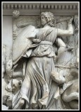 Hecate from Pergamon Altar, Berlin.