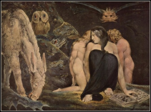 """The Night of Enitharmon's Joy"" by William Blake (1795)."