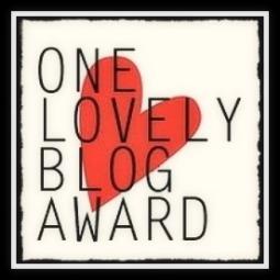 One Lovely Blog Award.