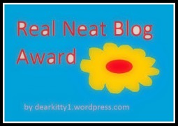Real Neat Blog Award.